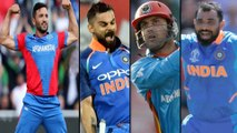 ICC Cricket World Cup 2019:India VS Afghanistan Match Highlights:India Beat Afghanistan By 11 Runs