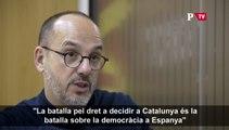 Carles Campuzano, sobre el dret a decidir i la democràcia a Espanya