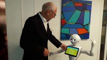 A Illkirch-Graffenstaden, un Ehpad accueille depuis mars 2019 Juliet, un robot pour divertir les personnes âgées