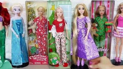 Barbie doll Pajamas Christmas Morning Happy Holidays Piyama boneka Barbie boneca Pijamas | Karla D.