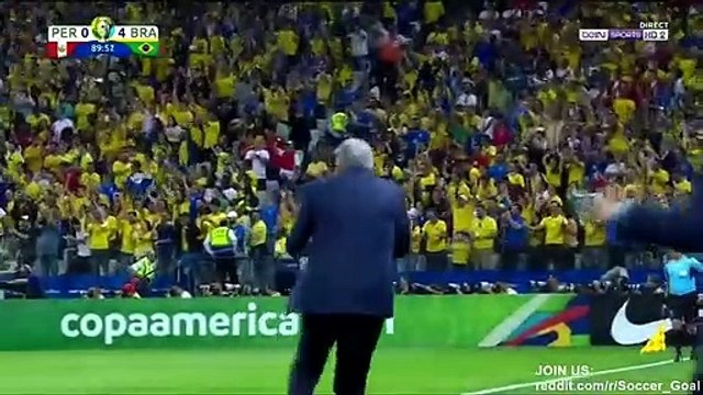 Willian Goal HD - Peru 0 - 5 Brazil - 22 06 2019 (Full Replay)