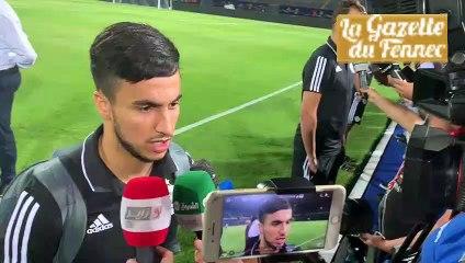 Zone mixte : Déclarations des joueurs algériens avant le Kenya