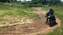Trail cross avec guillaume