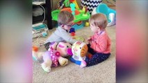 Funniest Siblings Baby Playing Together - Baby Funny Fails