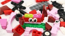 Building Blocks Toys for Children Lego Red Kids Creative Educational Toy