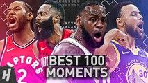 TOP 100 MOMENTS OF THE 2018-19 NBA SEASON---