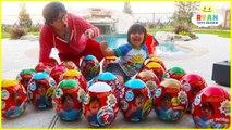 Huge Easter Egg Hunt Surprise Toys for Kids-