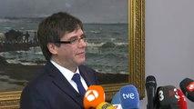"""Carles Puigdemont pide volver """"sin riesgos"""" y retira la petición del voto delegado"""