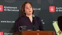 Ada Colau exige a Artur Mas y a Carles Puigdemont que asuman responsabilidades políticas por el 'caso Palau'