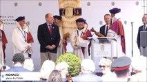 Le Prince Albert II de Monaco fait chevalier de la confrérie du Nougat de Montélimar