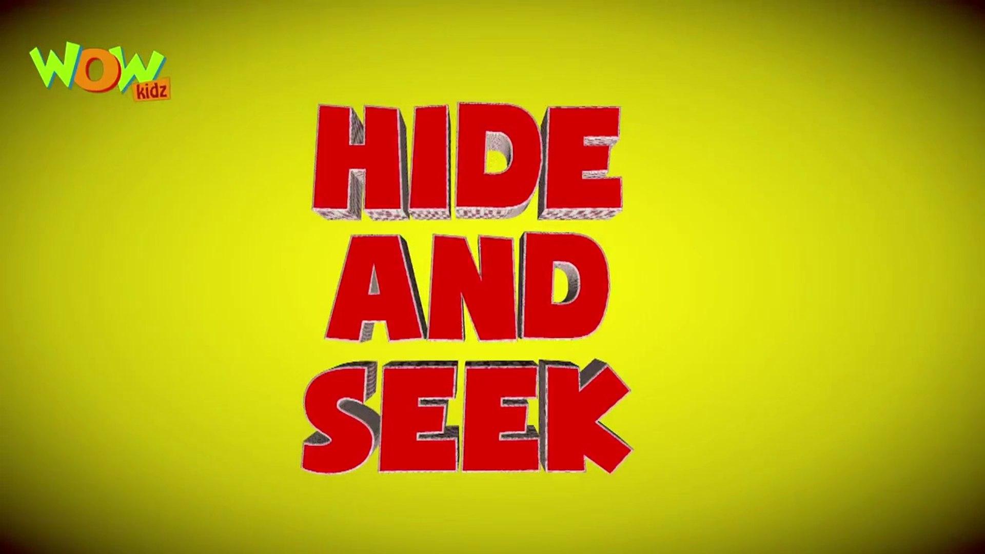 Hide and seek - Vir The Robot Boy