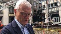 Incendie de la maison de la Mère Pourcel : l'interview du maire