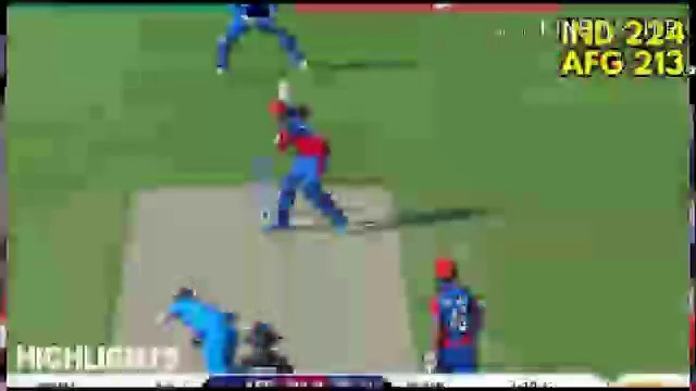 INDIA vs AFGHANISTAN  World Cup 2019 – Full Highlights