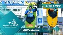 2019 ICF Canoe Slalom World Cup 2 Bratislava Slovakia / Extreme  Canoe Slalom
