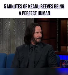 5 Minutes Of Keanu Reeves Being A Perfect Human