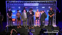 THE DESTROYER! - CONOR BENN v JUSSI KOIVULA - WHO NEEDS TO STRIP TO MAKE WEIGHT / OFFICIAL WEIGH-IN