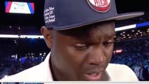 Zion Williamson Wears -100k Watch To Draft - CRIES His EYES OUT After Selection