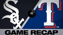 Mazara's 2 homers power Rangers to 6-5 win - White Sox-Rangers Game Highlights 6/22/19