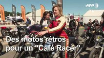 """Des motos rétros pour le """"Café Racer"""" de Montlhéry"""