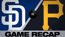 4-run 8th lifts Pirates past Padres - Padres-Pirates Game Highlights 6/22/19