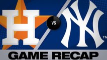 Sanchez, Torres power Yankees over Astros - Astros-Yankees Game Highlights 6/21/19