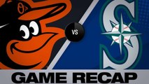 Mariners hold off comeback to take 10-9 win - Orioles-Mariners Game Highlights 6/21/19