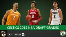 Celtics Draft Grades From The 2019 NBA Draft On Romeo Langford, Grant Williams - Carsen Edwards