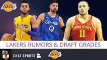 Lakers Draft Grade   Free Agency Rumors On Nikola Vucevic - D'Angelo Russell - 2019 NBA Draft Recap