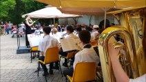 L'harmonie de Forbach joue Michael Jackson au parc du Schlossberg