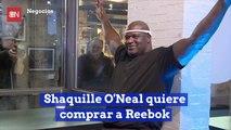 Shaquille O'Neal quiere comprar a Reebok