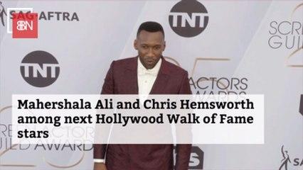 Mahershala Ali And Chris Hemsworth To Receive Hollywood Star