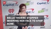 Bella Thorne's Skincare Routine