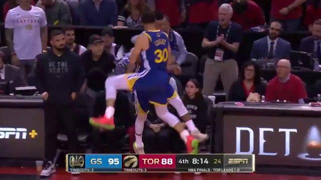 Golden State Warriors' deepest 3s from the 2019 NBA Playoffs!