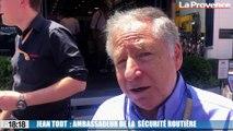 Le président de la FIA Jean Todt s'engage pour la sécurité routière