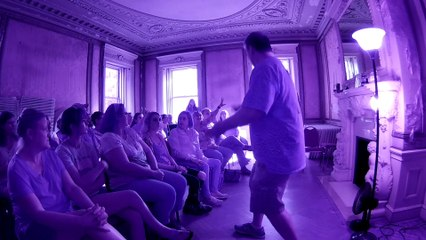 Swannanoa Palace Paranormal Event Fundraiser The Spirit of James Clearly Says His Name