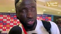 Réaction de Cheikhou Kouyaté f après Sénégal-Tanzanie (2-0)