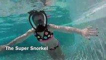 Anti-fog Anti-skid Diving Snorkeling Mask Full-face