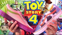 DISNEY PIXAR TOY STORY 4  MOVIE VANS SNEAKERS WOODY VS BUZZ LIGHTYEAR