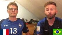 FRANCE VS BRÉSIL 2-1 !! L'ÉQUIPE DE FRANCE TROP FORTE POUR LE BRÉSIL !?