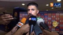 """Bounedjah : """"Faut qu'on oublie cette victoire, et se concentrer sur le prochain match"""""""