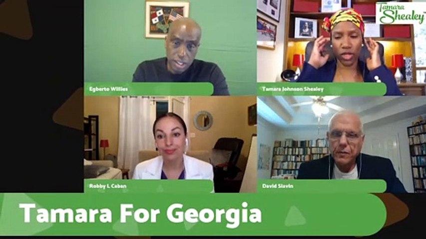 Tamara for Georgia - The Joe Biden Dog whistle explained