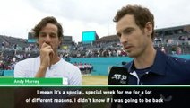 This means more than some of my singles titles - Murray