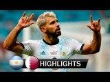 Argentina vs Qatar 2-0 All Goals - Highlights - Copa America 2019