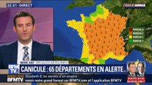Canicule: 65 départements en alerte