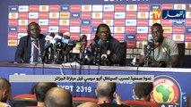 اليو سيسي: علينا الفوز على كل المنتخبات القوية وليس الجزائر فقط أذا ما ارادنا التتويج