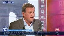 """Louis Aliot sur le train des primeurs de Rungis: """"François de Rugy a menti"""""""