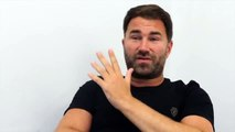 'WHY LIVE YOUR LIFE LIKE THAT?' -EDDIE HEARN RAW! /JOSHUA, RUIZ, REMATCH, WHYTE, TYSON FURY REGRETS?