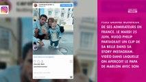 Caroline Receveur : Christophe Beaugrand tacle son fils, il s'explique
