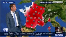 De fortes chaleurs partout sur l'Hexagone ce lundi, excepté en Bretagne