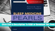 [Read] Sleep Medicine Pearls  For Online